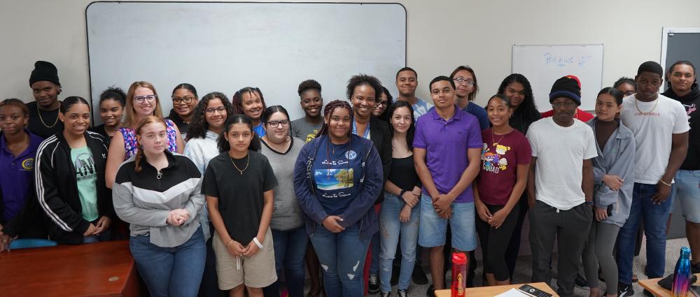 Participate in a guest lecture cayman islands