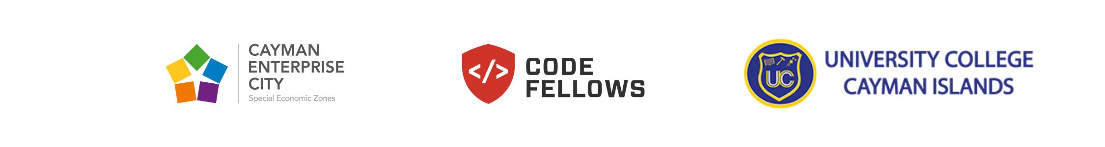 Cayman Code Academy sponsor logos